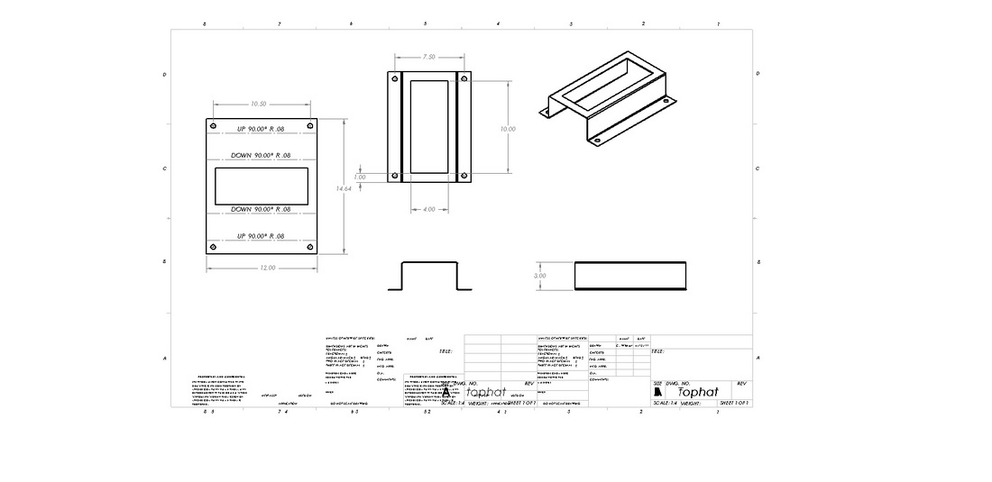 Solidworks Sheet Metal Chris Wisher S Design Portfolio